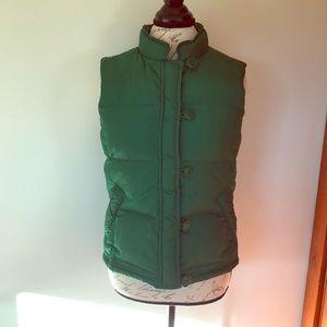 Vintage J. Crew Puffer Vest Size S